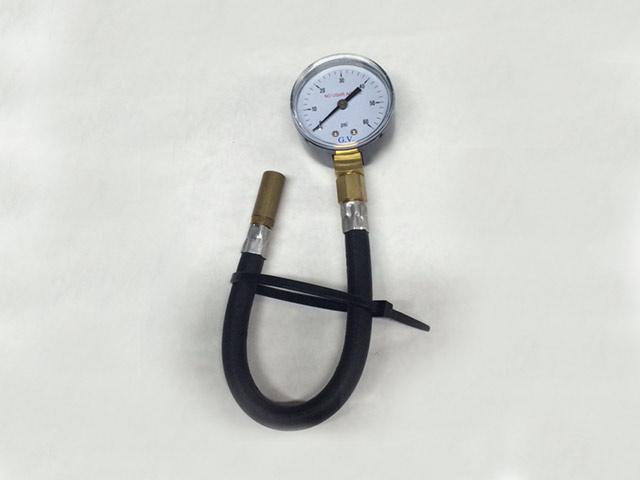 Manómetro bd25 con manguera - Línea Automotor