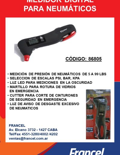 Medidor Digital 86805