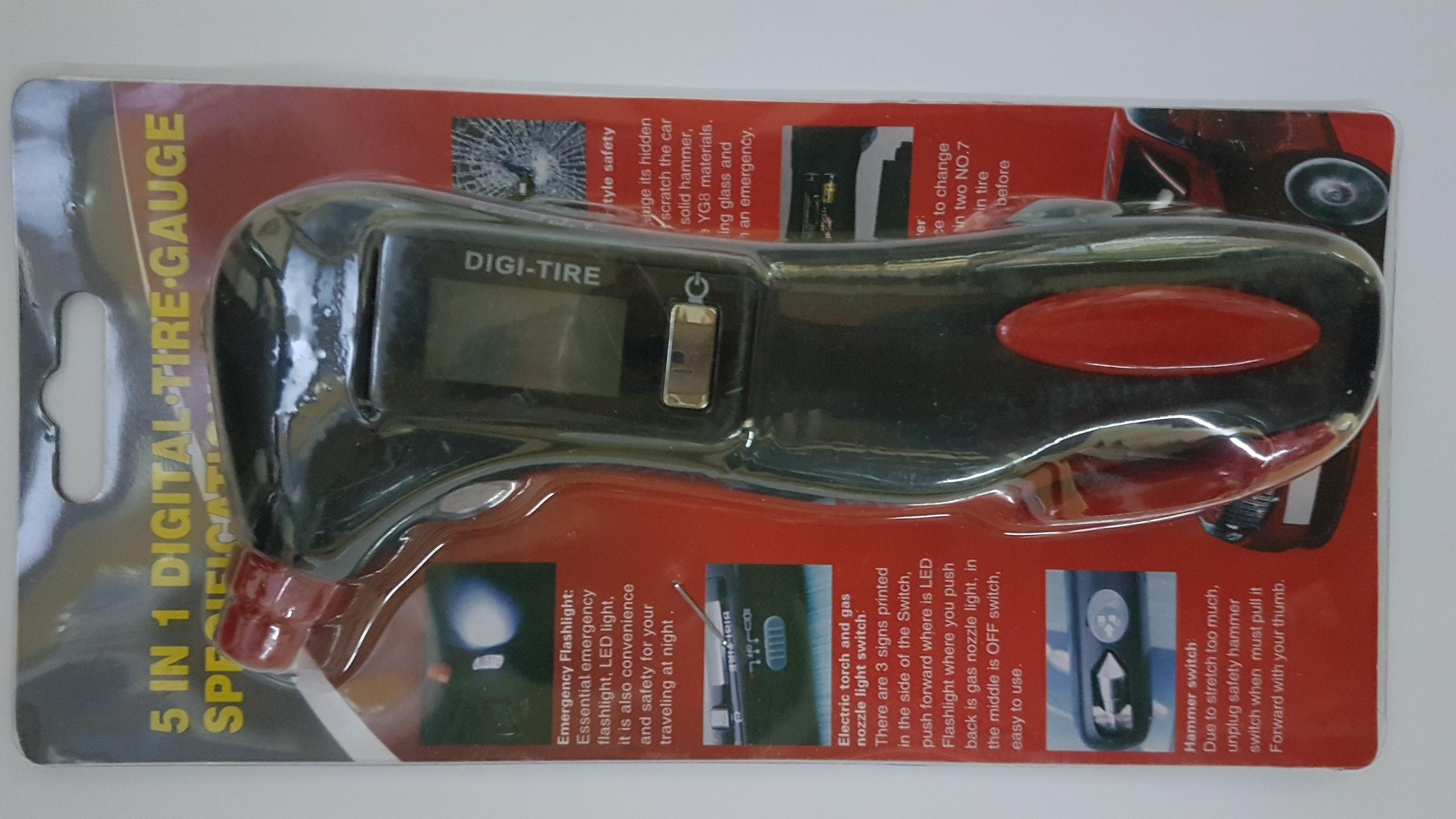 caja del medidor digital profesional - Línea Automotor
