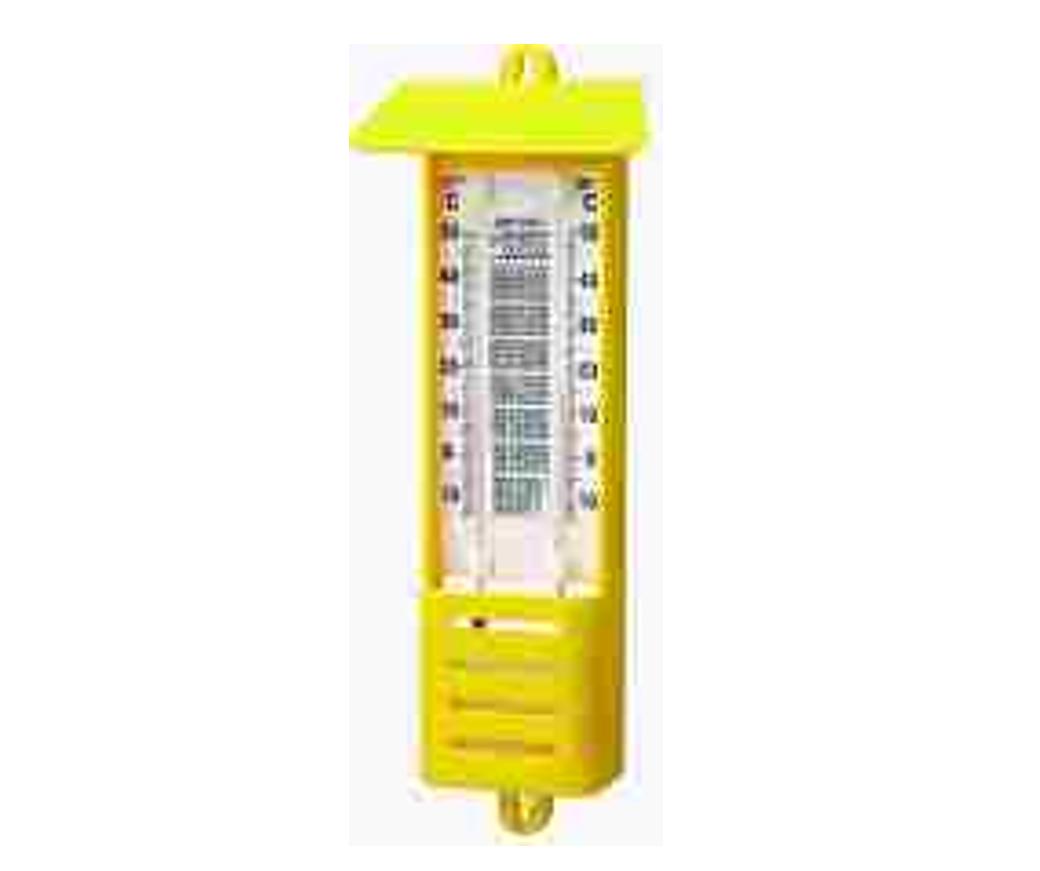 termometro y medidor de humedad ambiente